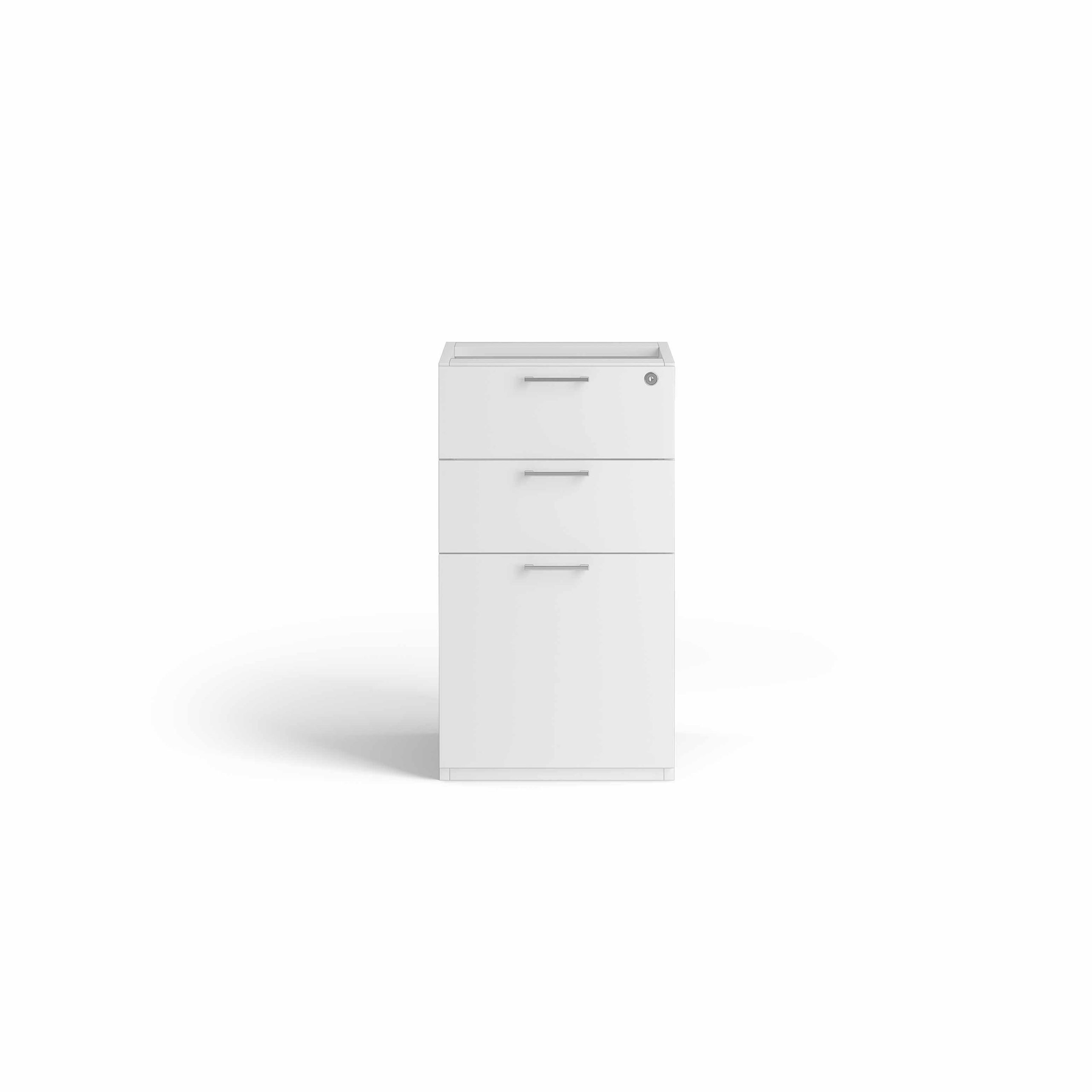 2 Drawers 1 Filling Fixed Pedestal
