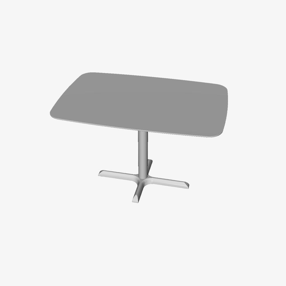 3D Axis Rectangular Table