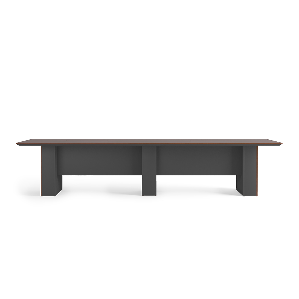 Conference table with modesty