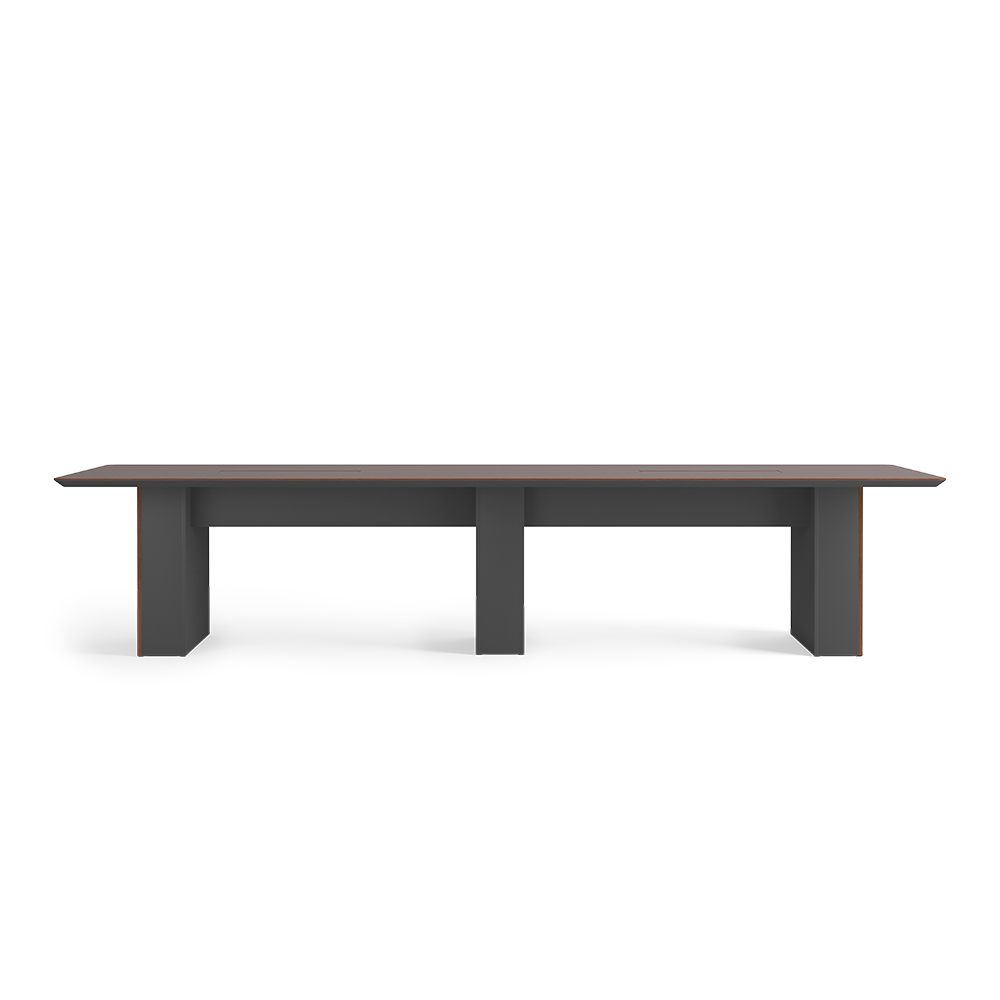 Conference table without modesty